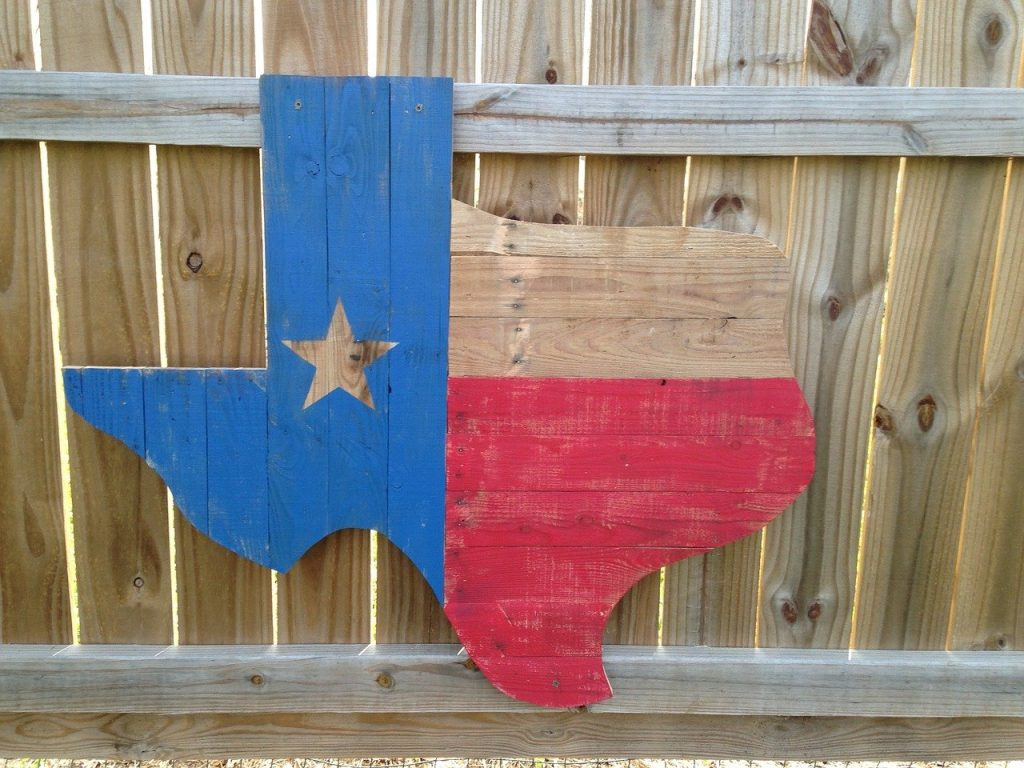 wooden, texas, state